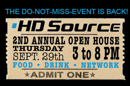 AJA Attends the 2nd Annual HDSource Open House