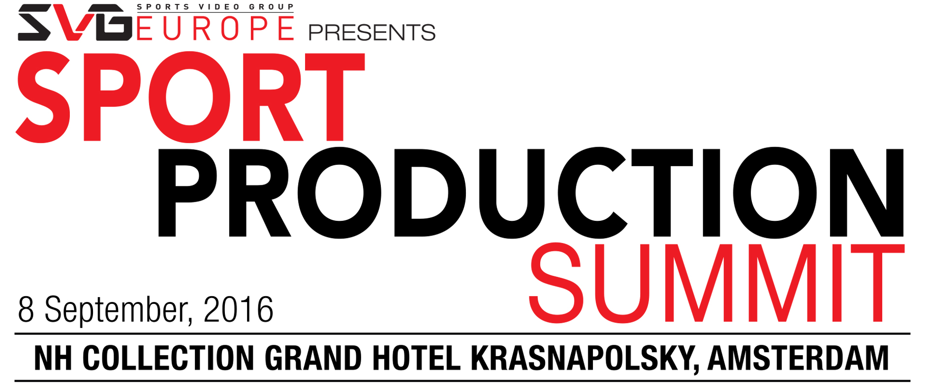AJA Exhibits at the SVG Europe Sport Production Summit