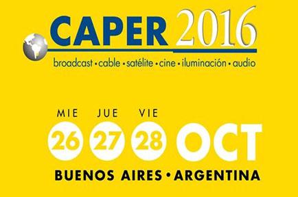 AJA Attends the 2016 Caper Show