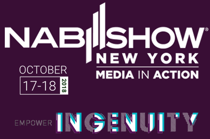 Register now to visit AJA at NAB Media in Action Booth #N724 ~ The Jacob K. Javits Center, New York, NY