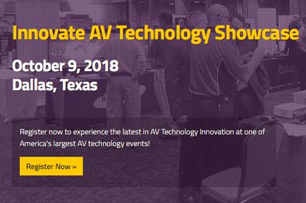 Register now to join AJA at the Innovate AV Technology Showcase in Dallas, Texas