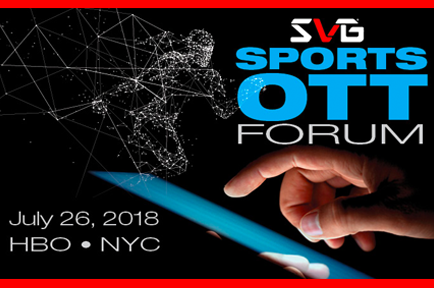Be sure to join AJA's Dan Wingard and Rob Ruotolo at SVG Sport OTT Forum ~ New York City