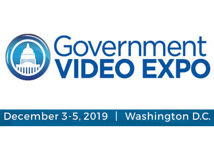 Save the date for the Government Video Expo ~ Washington, DC