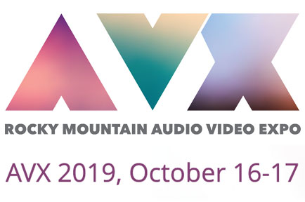 Stopover to visit AJA at The Rocky Mountain Audio Video Expo ~ Crowne Plaza DIA, Denver, CO