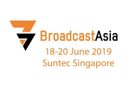 Visit AJA at BroadcastAsia, Booth #4L4-01, Suntec Singapore