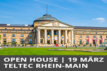 See AJA live demos at the Teltec Open House - Rhein-Main, Germany