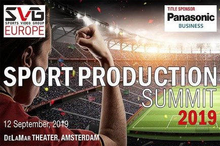 AJA is sponsoring 'Changing the Game: Eurosport in 2020 and Beyond' at the SVG Europe Sport Production Summit, Amsterdam