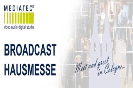 Visit AJA at the Mediatec Broadcast Open House in Köln, Germany