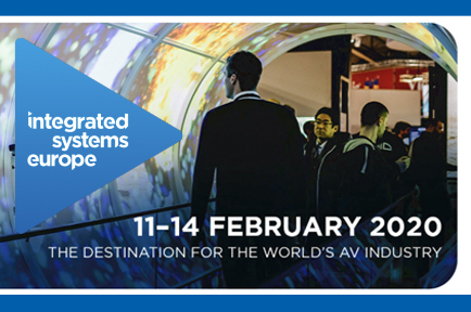 AJA is exhibting at ISE in Amsterdam, Netherlands.  Stand No: 8-G110