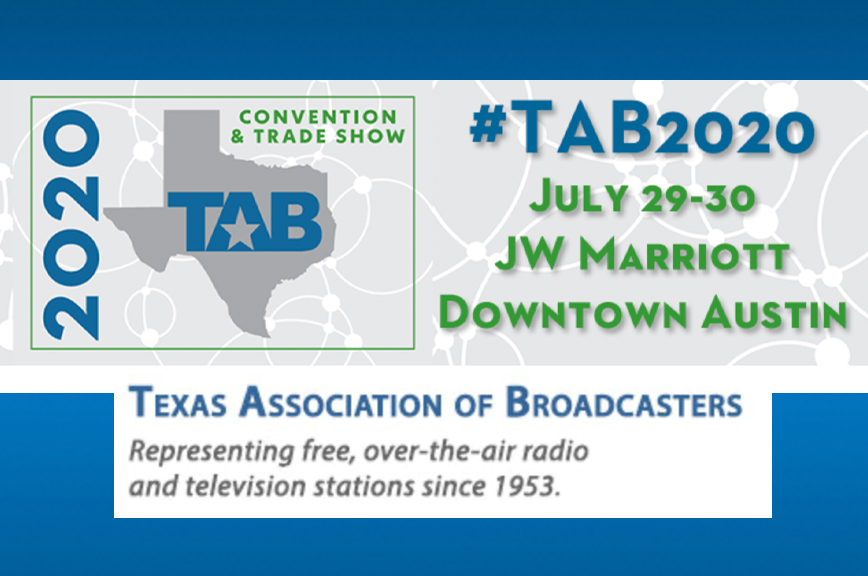 Visit AJA for the 67th Annual TAB Convention at Booth #316 & #318, JW Marriott in Austin