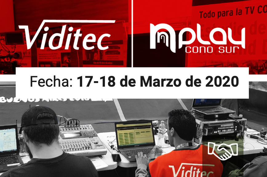 Mark your calendar for NPlay with Viditec, Argentina