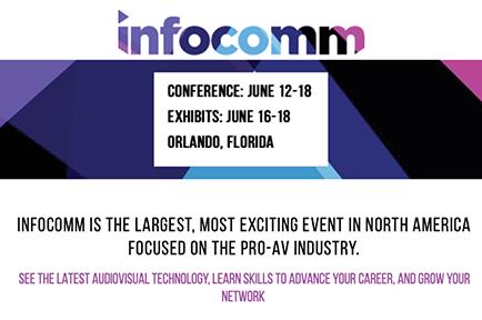 Visit AJA at InfoComm 2021, Orlando, FL