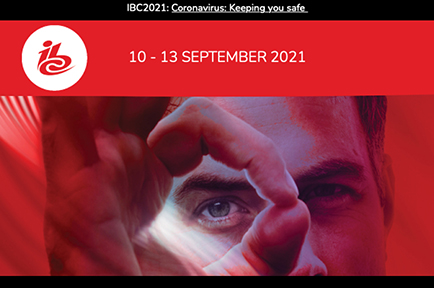 Visit AJA at IBC 2021, Amsterdam