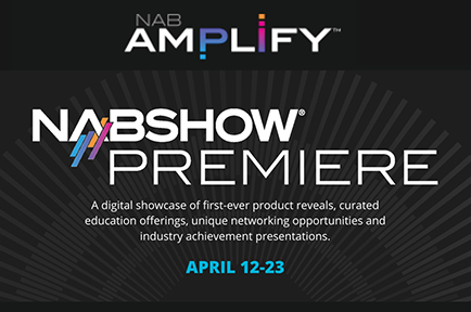 Join AJA at NAB Show Premier Virtual Event