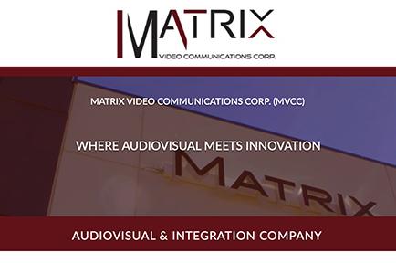 Come Visit AJA at Matrix Video