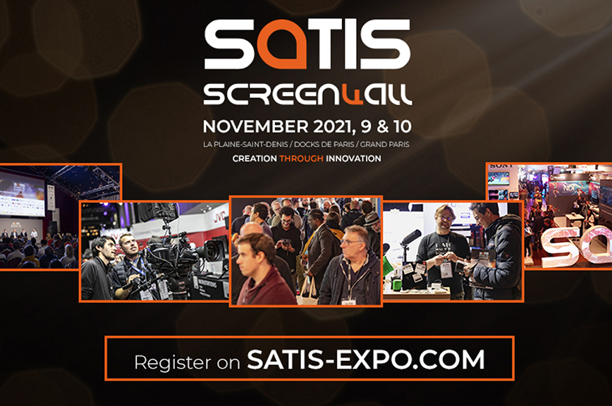 AJA will be showing 12G & 3G Solutions and more at SATIS, La Plaine-Saint-Denis, Grand Paris