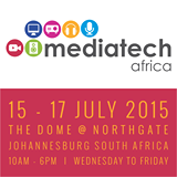 AJA Exhibits at Mediatech Africa. Stand # F3