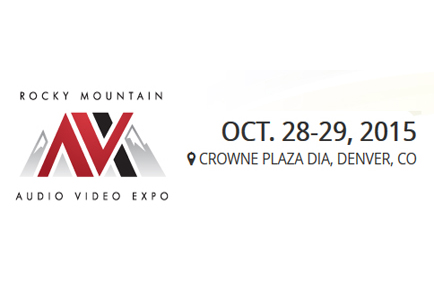 AJA Presents at the 2015 Rocky Mountain Audio Video Expo