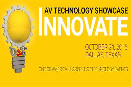 AJA Exhibits at the 2015 FordAV Innovate Technology Showcase
