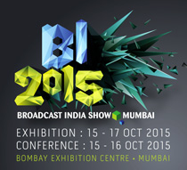 AJA Exhibits at Broadcast India 2015 - Booth B-207 & A-108