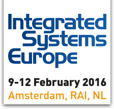 AJA Exhibits at ISE 2016. Stand # 8-R235