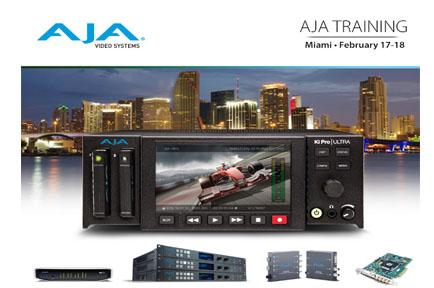 AJA Latin America Reseller Training