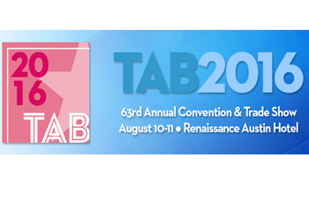 AJA Exhibits at TAB 2016: 63rd Annual Convention & Trade Show