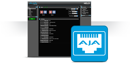 HELO - Stream, Record, Deliver H 264 at the Touch of a