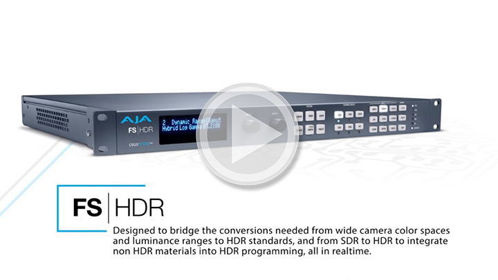 FS-HDR – Real Time HDR/WCG Conversion