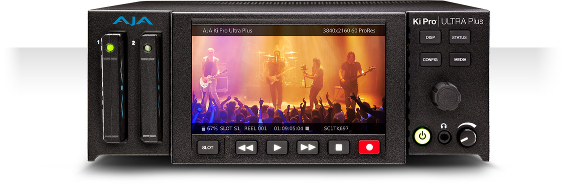 AJA Ki Pro Ultra Plus: Expand Your Recording/Playback Options