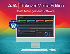 AJA Diskover Media Edition