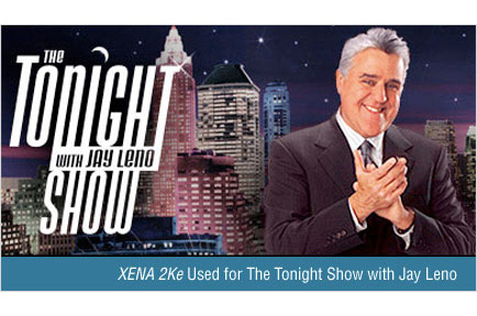 The Tonight Show with Jay Leno Taps AJA XENA 2Ke Video Solution