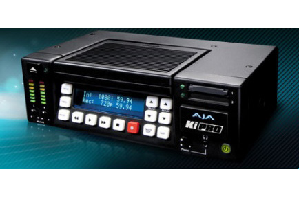 AJA Ships Ki Pro Portable Digital Disk Recorder