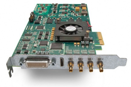 AJA Ships KONA 3G for Professional Video and Audio I/O