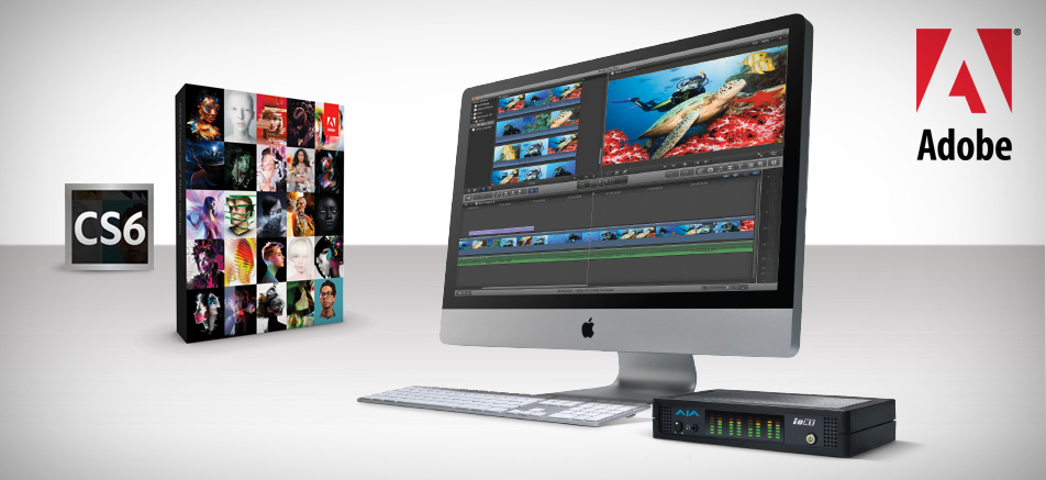 AJA Supports Adobe Creative Suite 6 Software Release