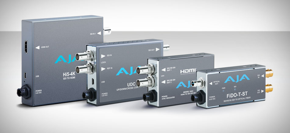 AJA Announces Up To 35% Price Reductions for Top-Selling HD Mini-Converters