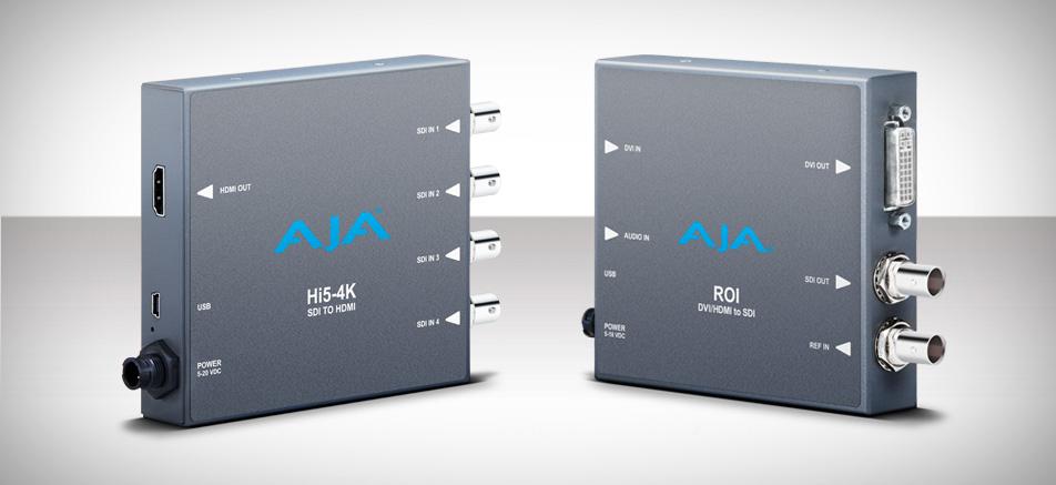 AJA Launches New Mini-Converters at NAB 2013