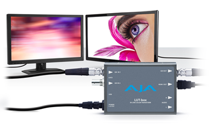 AJA Launches LUT-box for Precise Color and Look Management