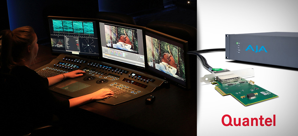 AJA Announces Corvid Ultra Support for Quantel Pablo Rio