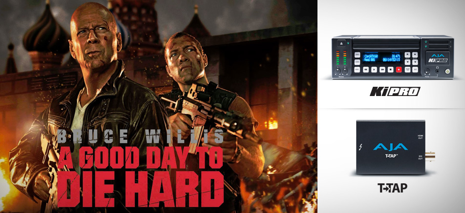 "AJA Ki Pro Facilitates Preview Screening of ""A Good Day to Die Hard"" for Troops in Kuwait"