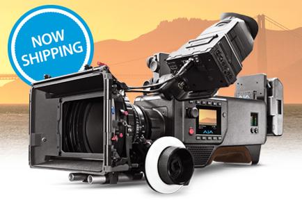 AJA CION 4K/UltraHD/2K/HD Production Camera Now Shipping