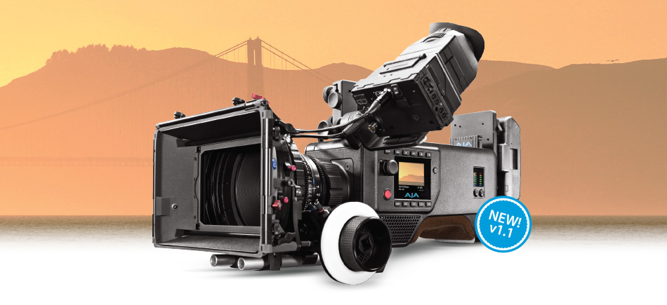 AJA Releases v1.1 Firmware for CION™ Production Camera