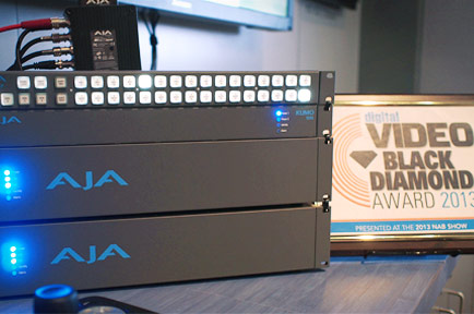 AJA Wins Multiple Product Awards at NAB 2013