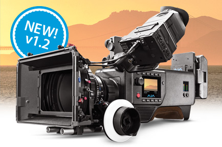 CION 1.2 softwareAJA Releases v1.2 Firmware for CION™ Production Camera at NAB 2015