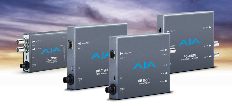 New AJA Mini-Converters Released