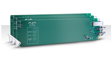 AJA Releases New openGear®-Compatible Rack Cards at Inter BEE 2015