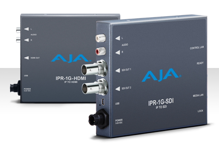 AJA Expands IP-Based Workflow Technologies at IBC 2016