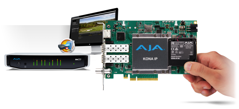 AJA Announces Desktop Software v12.5 for KONA®, Io® and T-TAP®