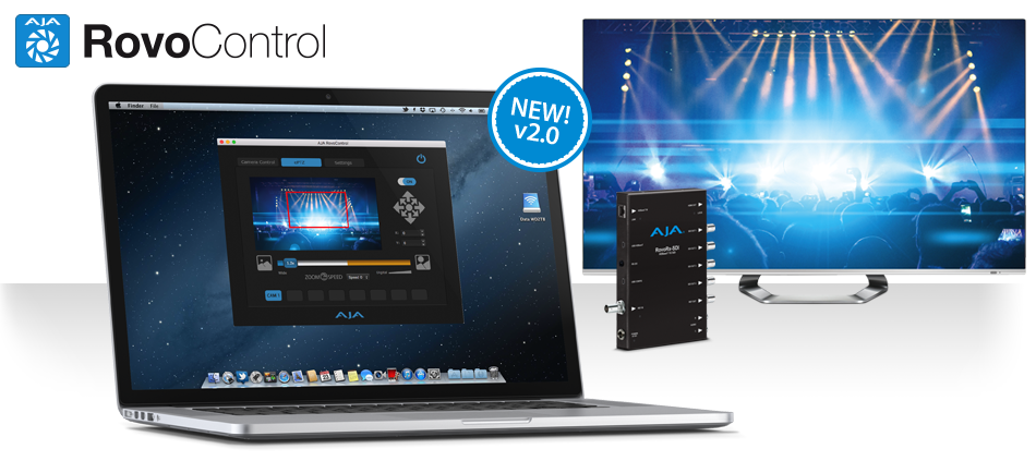 AJA Enhances RovoCam HDBaseT Compact Block Camera Workflows