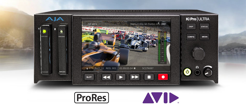 AJA Releases Ki Pro Ultra v2.0 Firmware with Support for Avid DNxHD